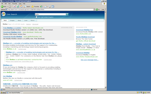Firefox-Live-Search-2006-10-01-1
